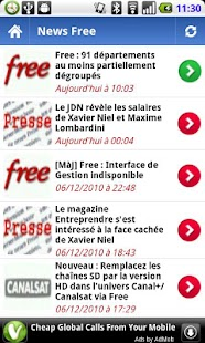 Freebox Actu Mobile - screenshot thumbnail