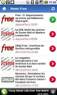 Freebox Actu Mobile - screenshot thumbnail