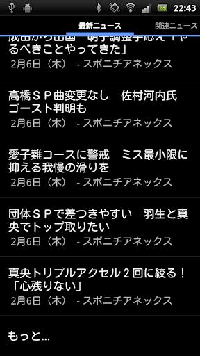 無料新闻Appのフィギュアのニュース 記事Game