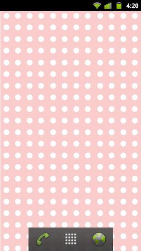 Pastel color dot Livewallpaper