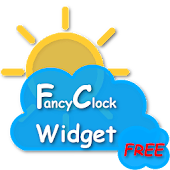 FancyClock Widget Free