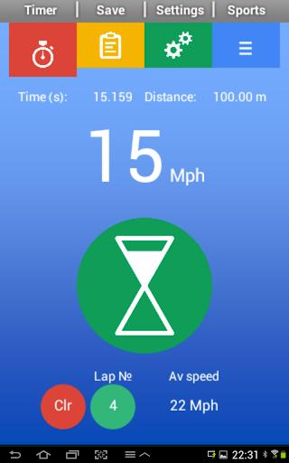 Sports Speed Clock
