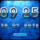 BLUE Digital Clock icon