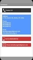 Screenshot of Dental Lounge Dental Clinic