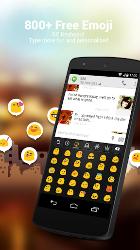 Filipino for GO Keyboard-Emoji