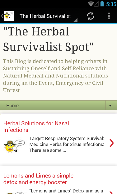 The Herbal Survivalist Spot- screenshot