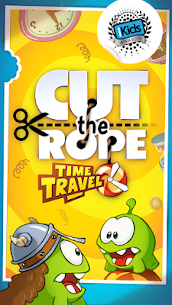 Cut the Rope: Time Travel Mod 1.12.0 Apk [Unlimited Money] 1