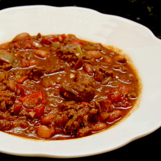 Spicy Ground Beef Chili