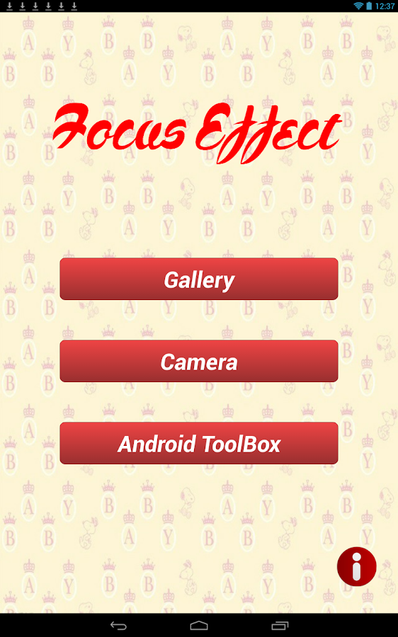 Focus Effect - screenshot