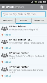 HP ePrint Enterprise (service) Screenshot 8