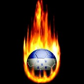 Honduras Fire Soccer Ball