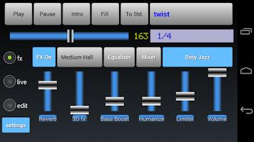 Screenshot of Drummer Friend - Drum Machine