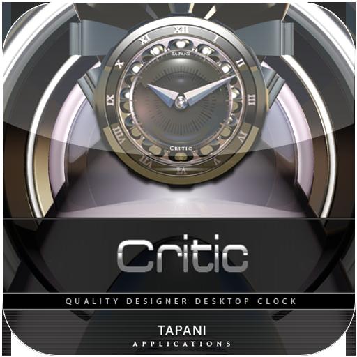 Designer Clock Widget CRITIC