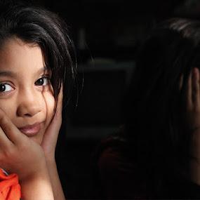 Cute Daughter  by TANVEER Ali - Babies & Children Child Portraits