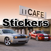 MC Soft Muscle Cars Stickers