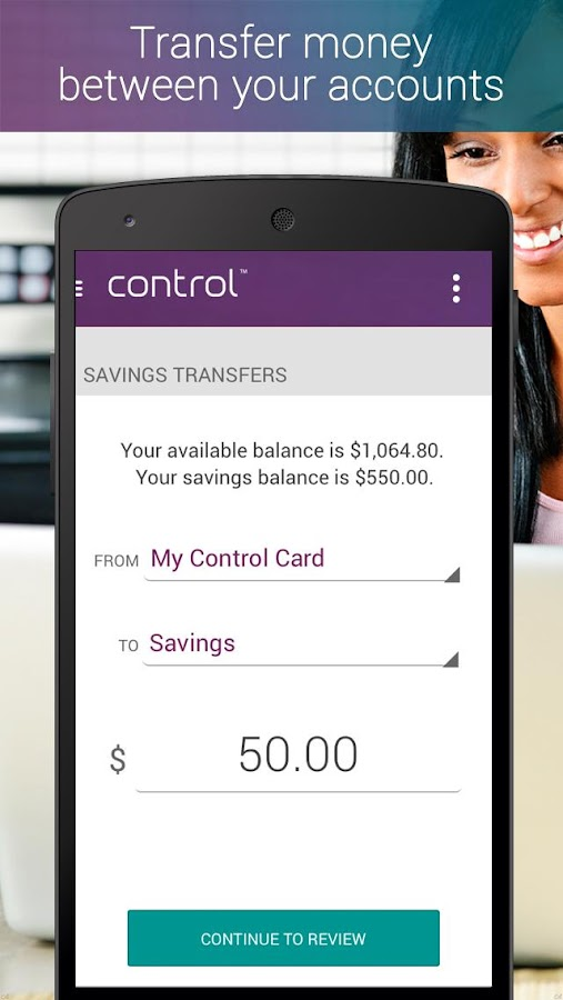 My Control Card Mobile Banking- screenshot