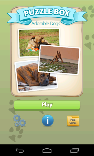 Picture Puzzle Dogs