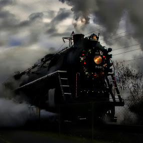 Out of the Darkness by Gary Winterholler - Transportation Trains