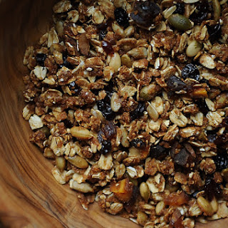 Granola with Lots of Dried Fruit.