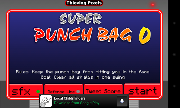 Super Punch Bag apk screenshot