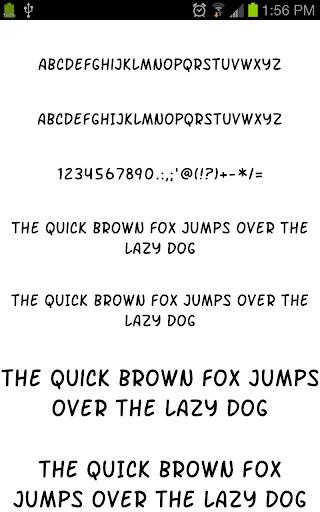Fonts for Galaxy FlipFont Free 3.23.0 screenshots 2