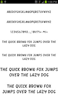 App Fonts for Galaxy FlipFont Free APK for Windows Phone