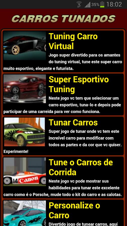 Jogos de Carros Tunados - screenshot