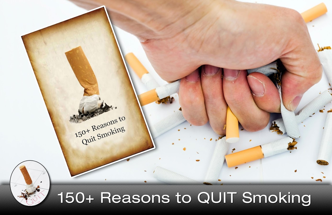 Quit Smoking Habit:150 Reasons - screenshot