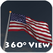 Real US & 50 States Flag LWP +