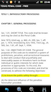 Texas Penal Code FREE - AppRecs
