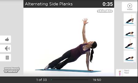 Workout Trainer fitness coach Screenshot 41