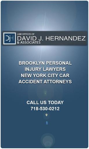 AccidentApp David J. Hernandez