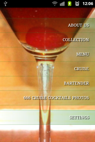 666 cruise cocktails