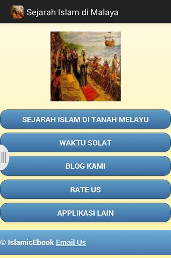 Sejarah Islam di Malaya