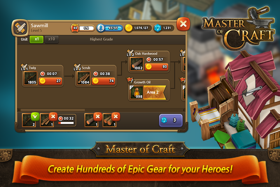 Master of Craft - screenshot