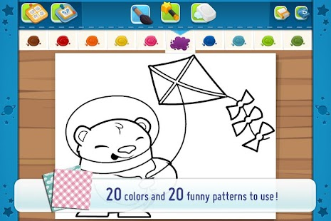 CosmoCamp: Coloring Book- screenshot thumbnail