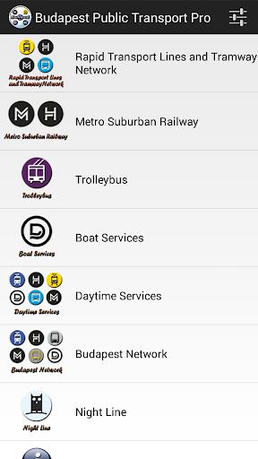 Budapest Public Transport Pro