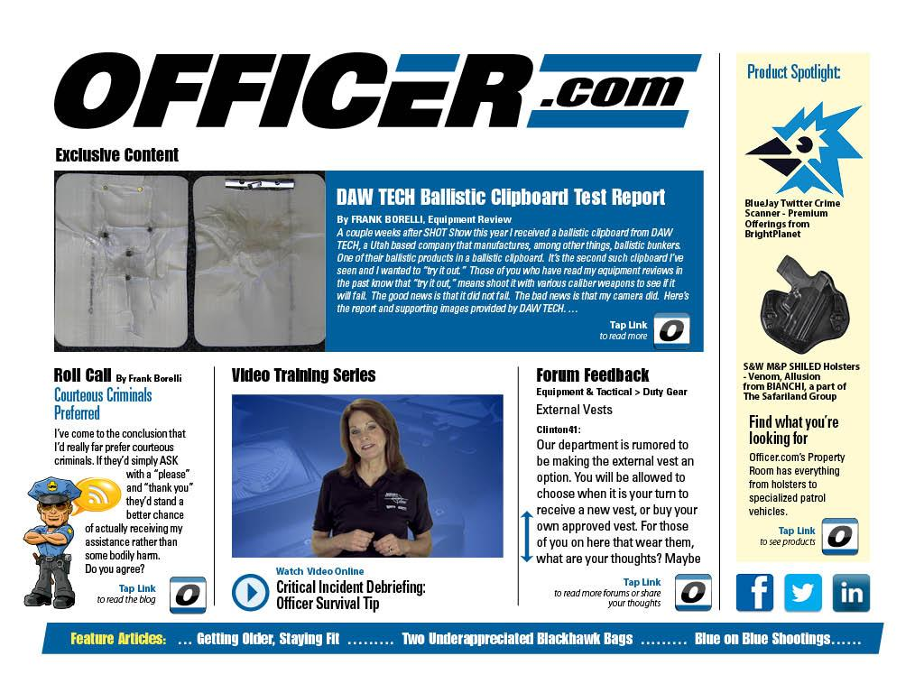 Law Enforcement Product News - screenshot