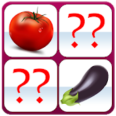 Vegetables Memory Game Free