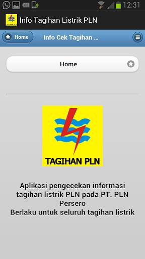 【免費商業App】Info Tagihan Listrik PLN-APP點子