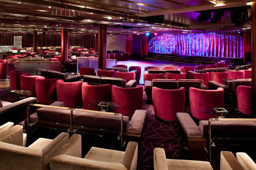 Seabourn_Grand_Salon - The Grand Salon on the Seaboun Quest hosts varied shows and performances — you're sure to find something to enjoy.