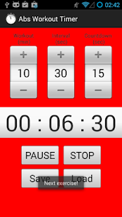 Abs Workout Timer - screenshot thumbnail
