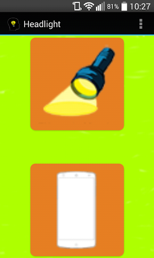 Headlight - super flashlight