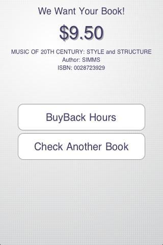Sell Books UWO- screenshot