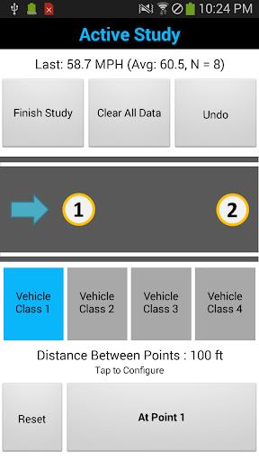Average Speed Study