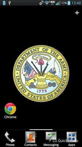 U.S. Army Seal Live Wallpaper