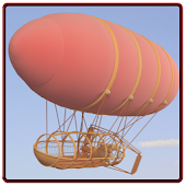 The Flying Adventure Blimp