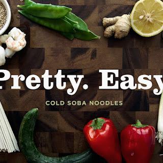 Chilled Soba Noodles with Lemon-Ginger Dressing