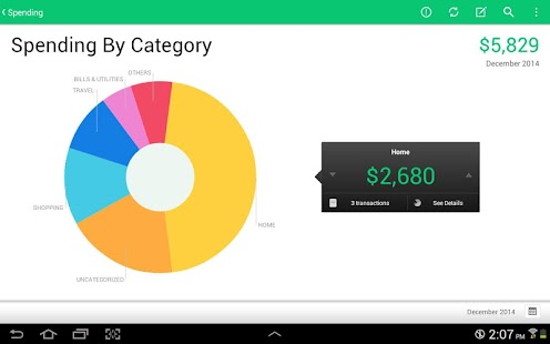 Mint: Finance, Budgets & Money - screenshot thumbnail