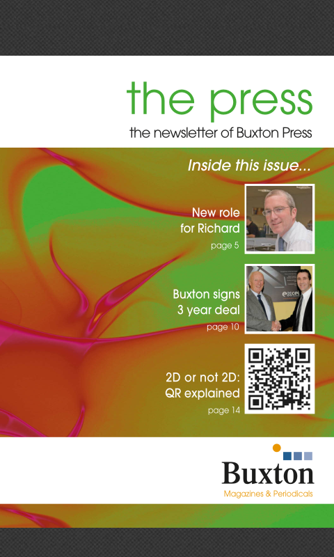 Buxton Press- screenshot